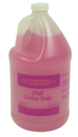 PINK LOTION HAND SOAP 1 GALLON JUG 4 GAL/CASE